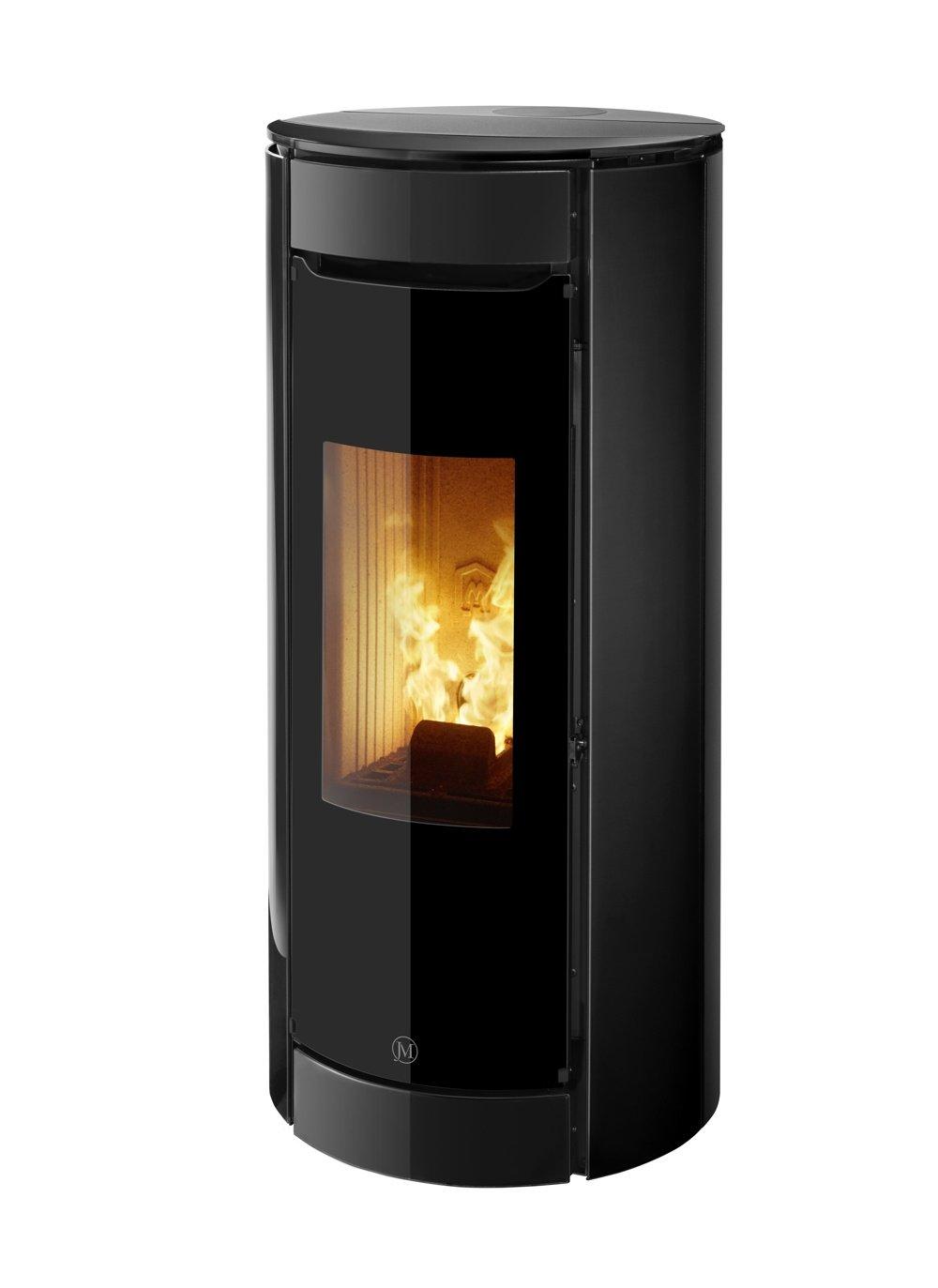 Thermopoêle air pellets BOTERO 2 couleur noir