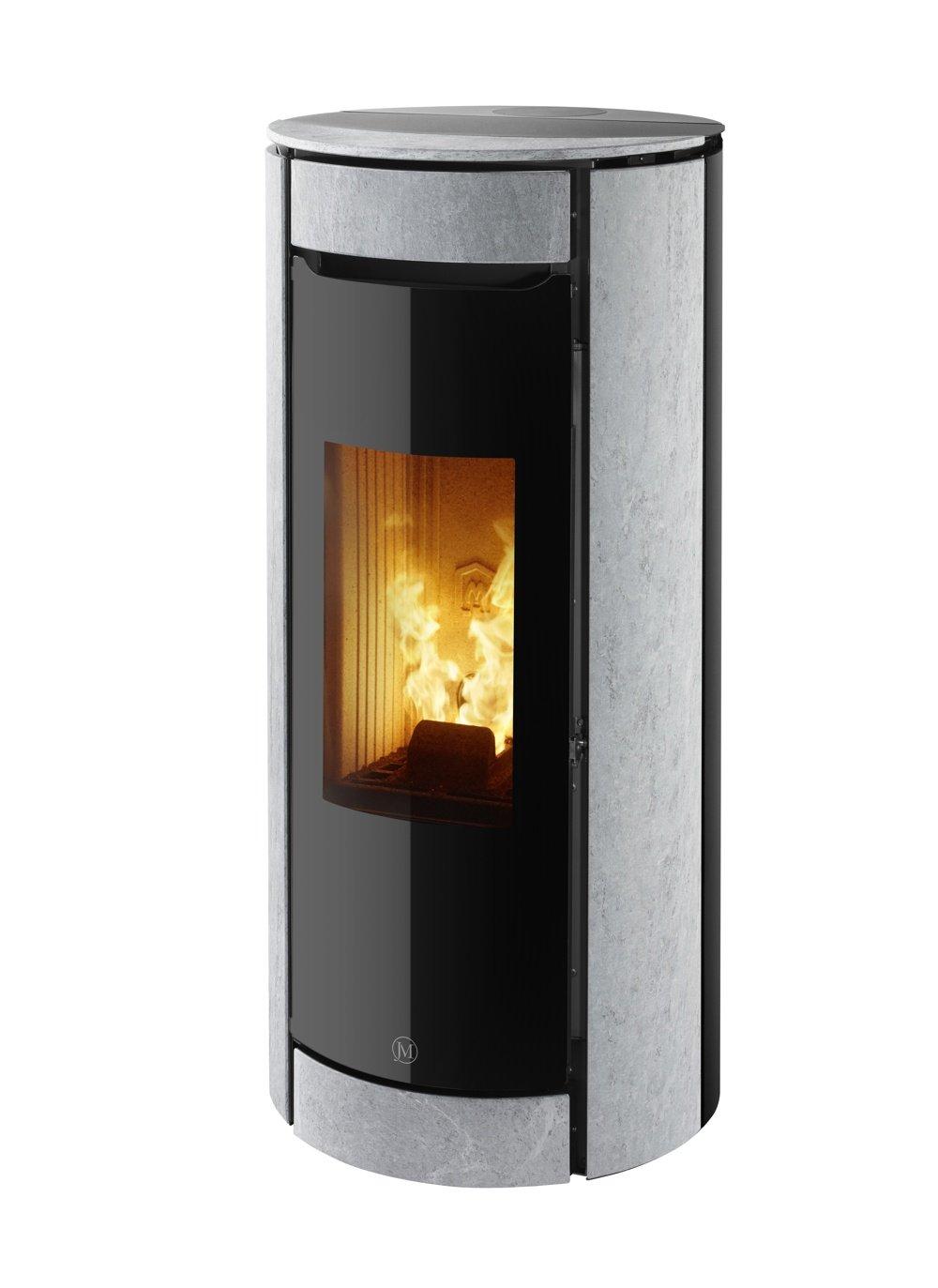 Thermopoêle air pellets BOTERO 2 pierre