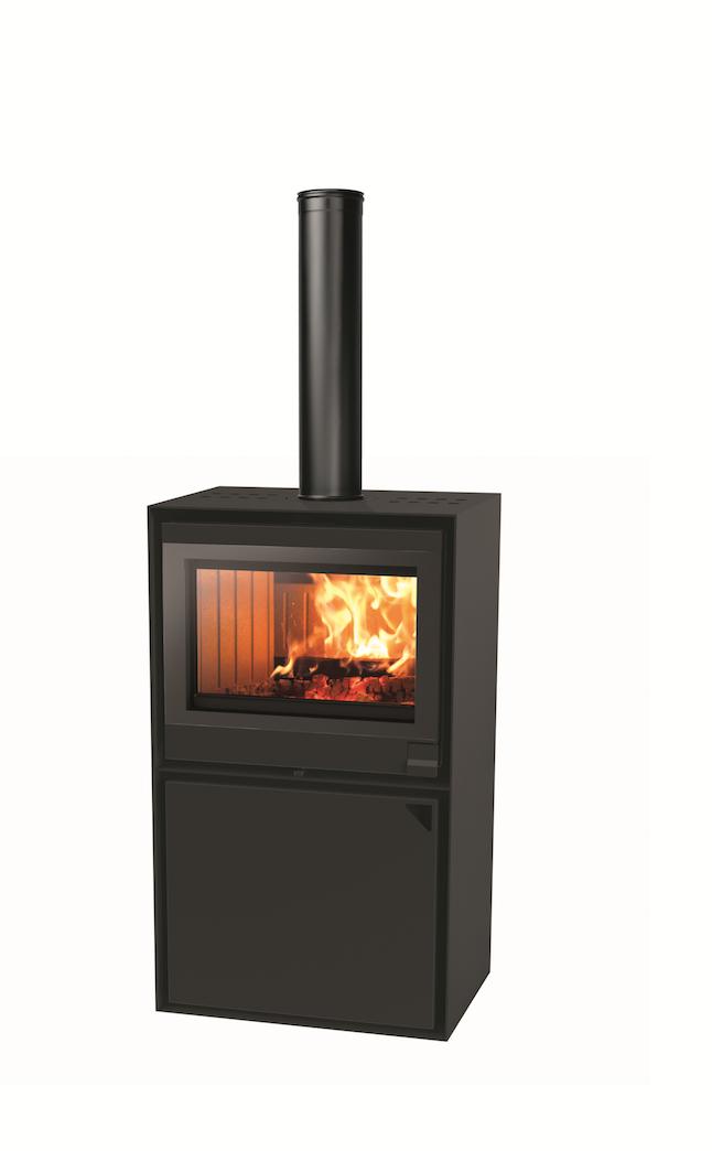 Thermopoêle air bois EASY 68 BASIC couleur noir