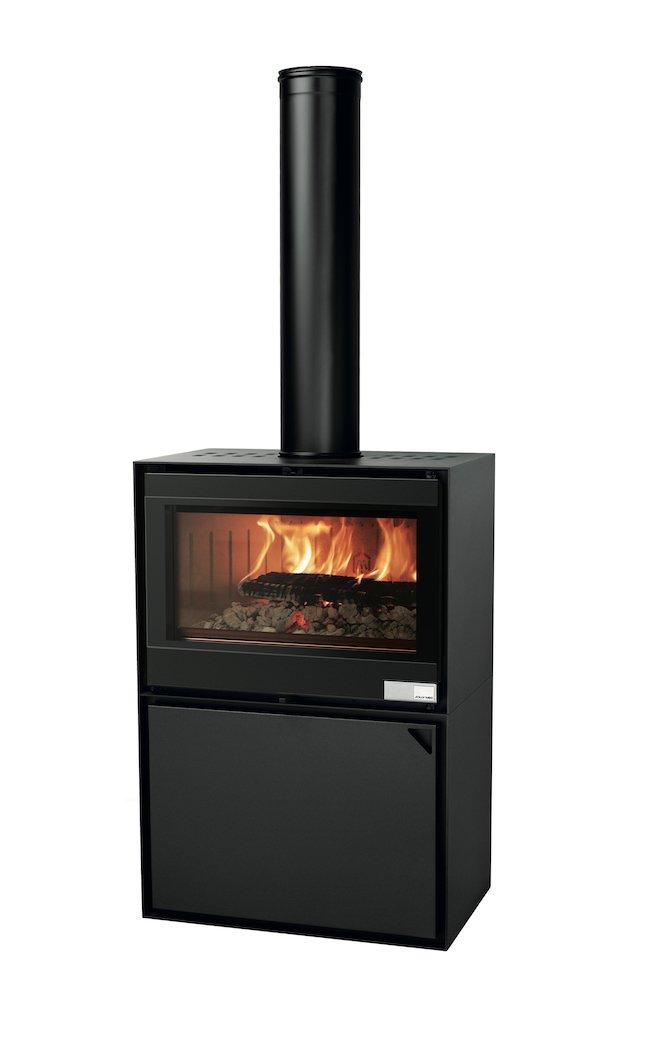 Thermopoêle air bois EASY 80 BASIC couleur noir