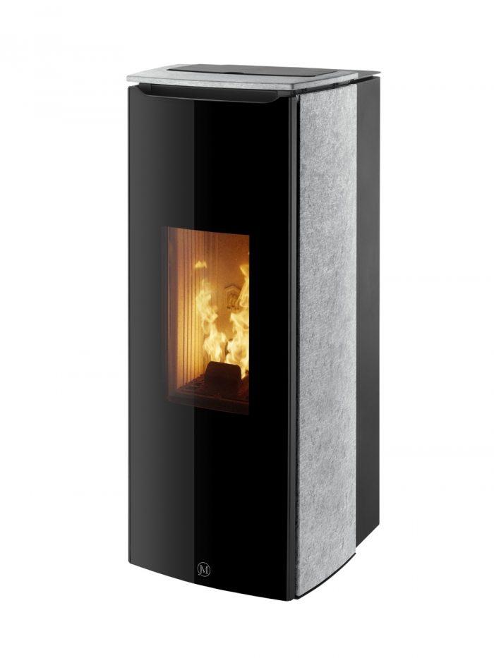 Thermopoêle air pellets ODETTE pierre
