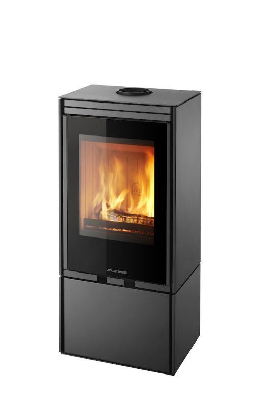 Thermopoêle air bois QL 10 couleur noir