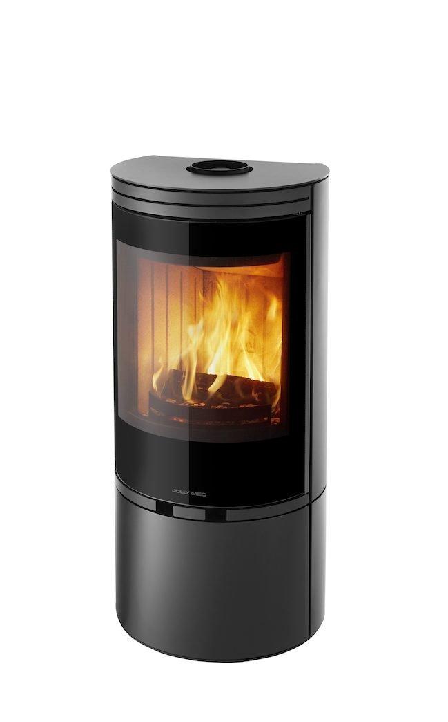 Thermopoêle air bois TL 10 couleur noir