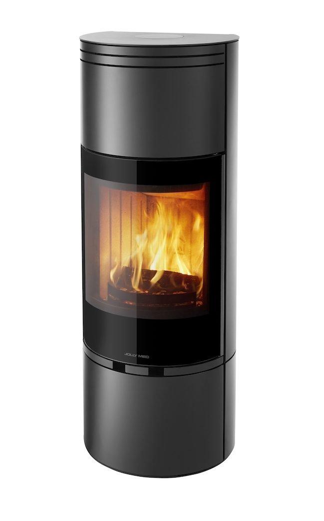 Thermopoêle air bois TL 15 couleur noir